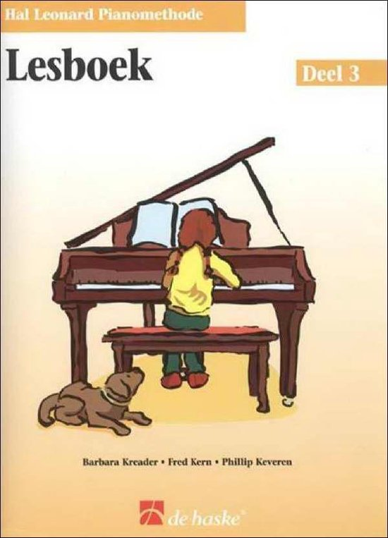 Boek cover Lesboek De Hal Leonard Piano Methode 3 van Phillip Keveren (Onbekend)