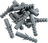 Nylon Pluggen - Muurplug - Plug - 6x30mm - 100 Stuks