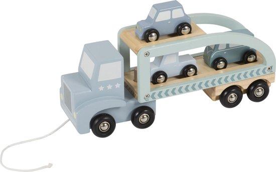 Little Dutch Speelgoed Houten Truck - Mint