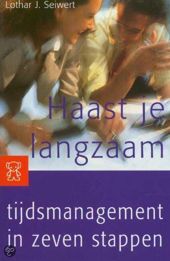Cover van het boek 'Haast je langzaam'