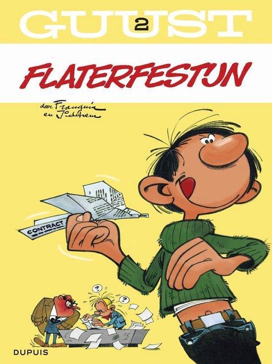Guust Flater: 002 Flaterfestijn - André Franquin |
