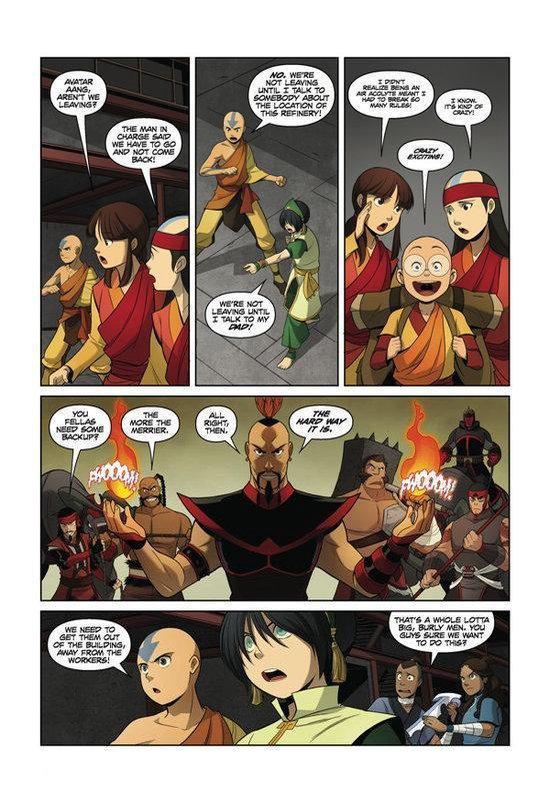 Avatar: The Last Airbender: The Rift Part 2;Avatar: The Last Airbender: - Gene Luen Yang