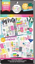 Me and My Big Idea's - Happy Planner Sticker Value Pack - Happy Quotes - 496Pieces
