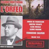 Monteverdi: L' Orfeo (Milano, 1939)