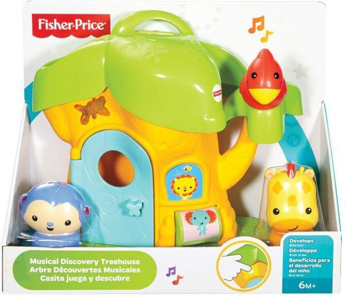 Fisher Price Musical Discovery Treehouse