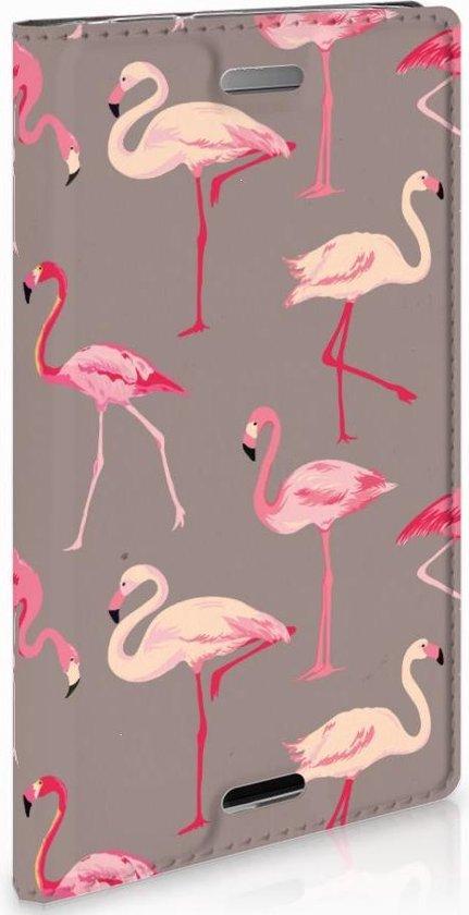 Sony Xperia XZ1 Compact Standcase Hoesje Flamingo
