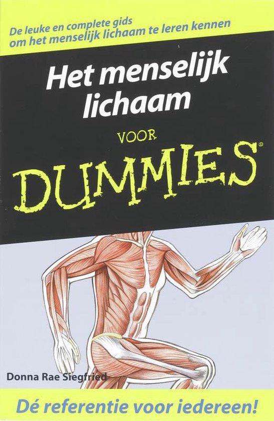 Voor Dummies - Het menselijk lichaam voor dummies - Donna Rae Siegfried  
