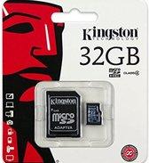 Kingston Micro SD kaart 32 GB Class4