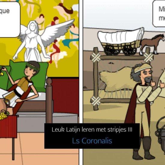Leuk Latijn leren met stripjes III - Ls Coronalis |