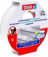 Tesa Anti-Slip Tape - Transparant - 5 m x 25 mm