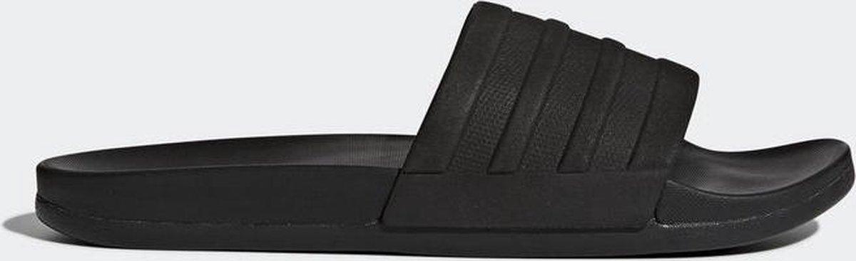 adidas CF Adilette Plus Mono Slippers Volwassenen - Black - Maat 40.5