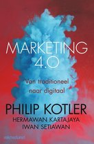 Boek cover Marketing 4.0 van Philip Kotler (Paperback)