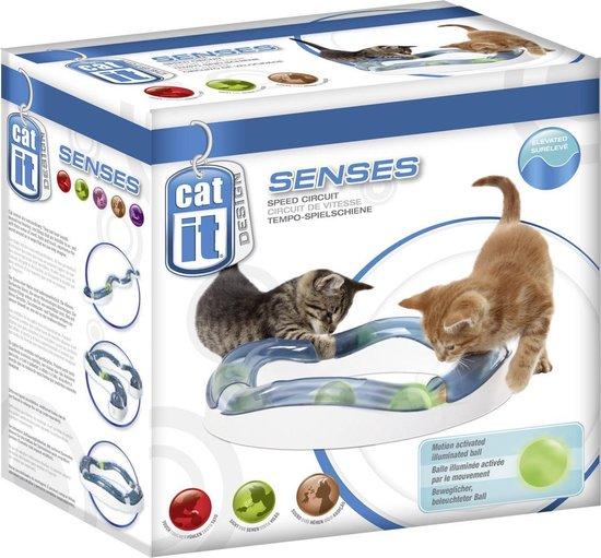 Cat it Senses kattenspeelgoed Speed Curcuit - Wit - 24 x 12,5 x 24cm