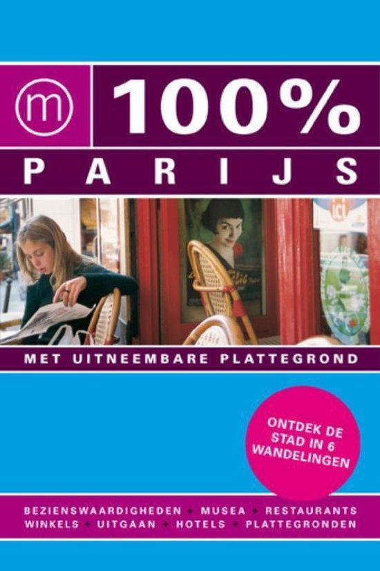 Cover van het boek '100% Parijs' van Evelyn ter Bekke