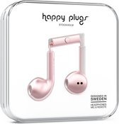 Happy Plugs Earbud Plus - In-ear oortjes - Rozegoud