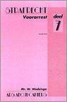 Boek cover Voorarrest van Wedzinga W.