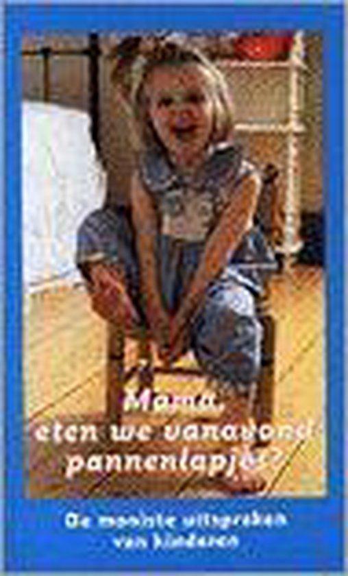 MAMA ETEN WE VANAVOND PANNENLAPJES - Onbekend  