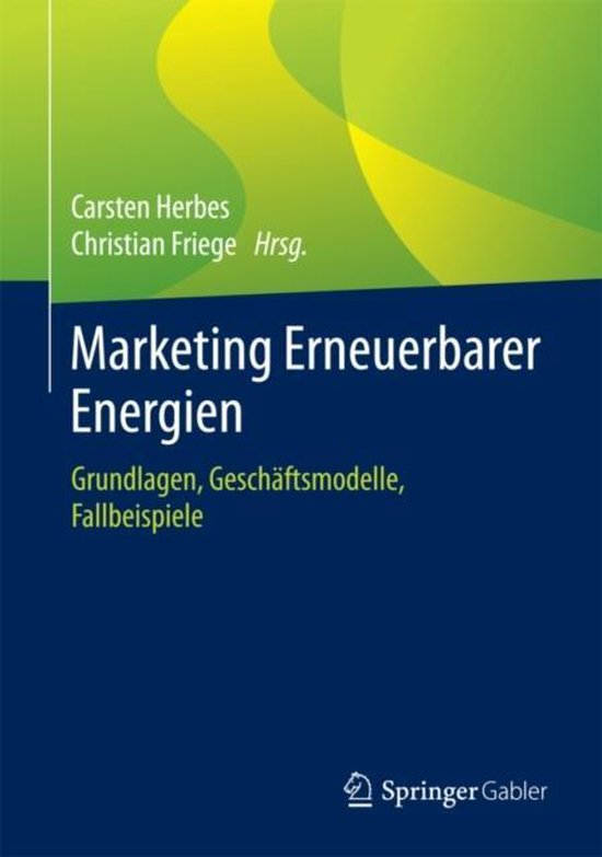 Marketing Erneuerbarer Energien