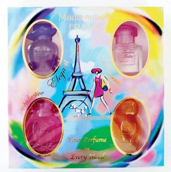 Originele Franse Parfum Miniaturen (vier stuks)