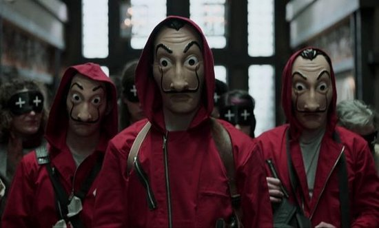 La Casa de Papel masker - Dali masker verkleedpartij