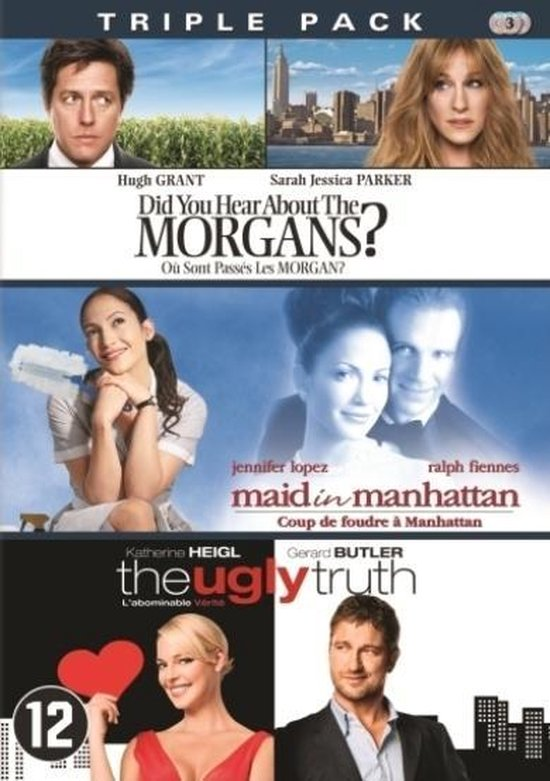 Cover van de film 'Did You Hear About The Morgans/Maid In Manhattan/The Ugly Truth'