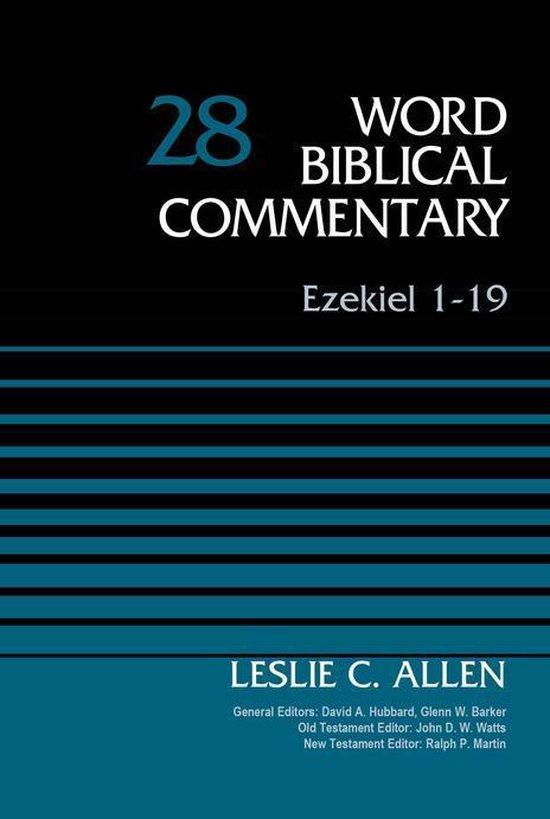 Boek cover Ezekiel 1-19, Volume 28 van Leslie C. Allen (Onbekend)
