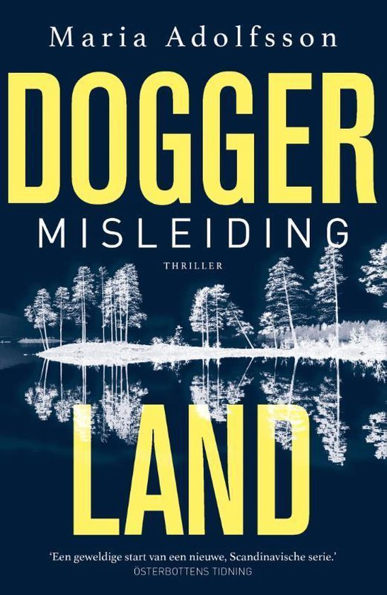 Boek cover Doggerland 1 -   Misleiding van Maria Adolfsson