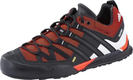 | adidas Terrex Solo approach schoenen Heren rood