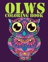 Creative Owls Coloring Book