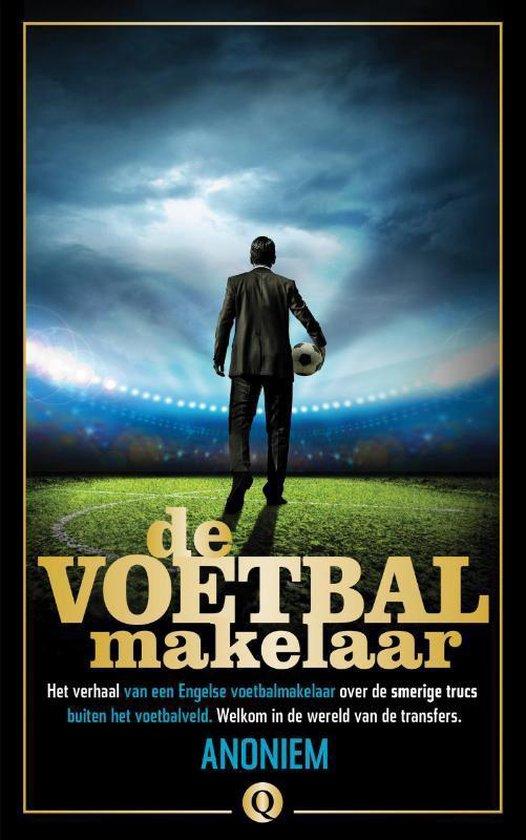 Boek cover De voetbalmakelaar van Anoniem (Onbekend)