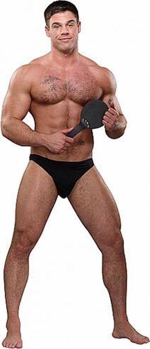 Straf Me! Slip - Zwart - Male Power