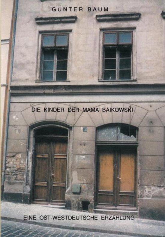 Omslag van Die Kinder der Mama Baikowski