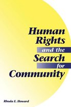 Omslag Human Rights And The Search For Community