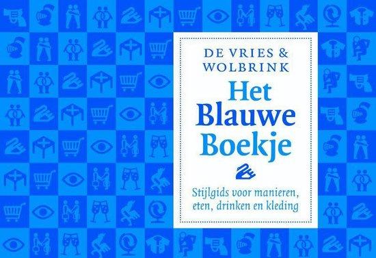Het blauwe boekje - dwarsligger (compact formaat) - Stefan de Vries |