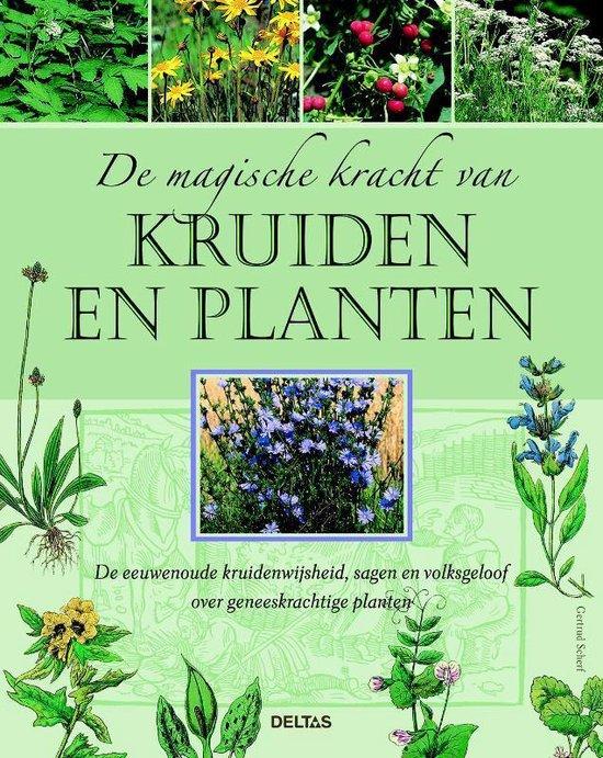 Cover van het boek 'De magische kracht van kruiden en planten' van Getrud Scherf
