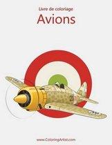 Livre de Coloriage Avions 1