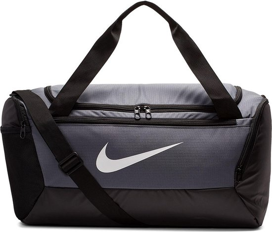 Nike  Brsla S Duff - 9.0 Unisex Sporttas - Flint Grey/Black/(White) - Maat OSFA