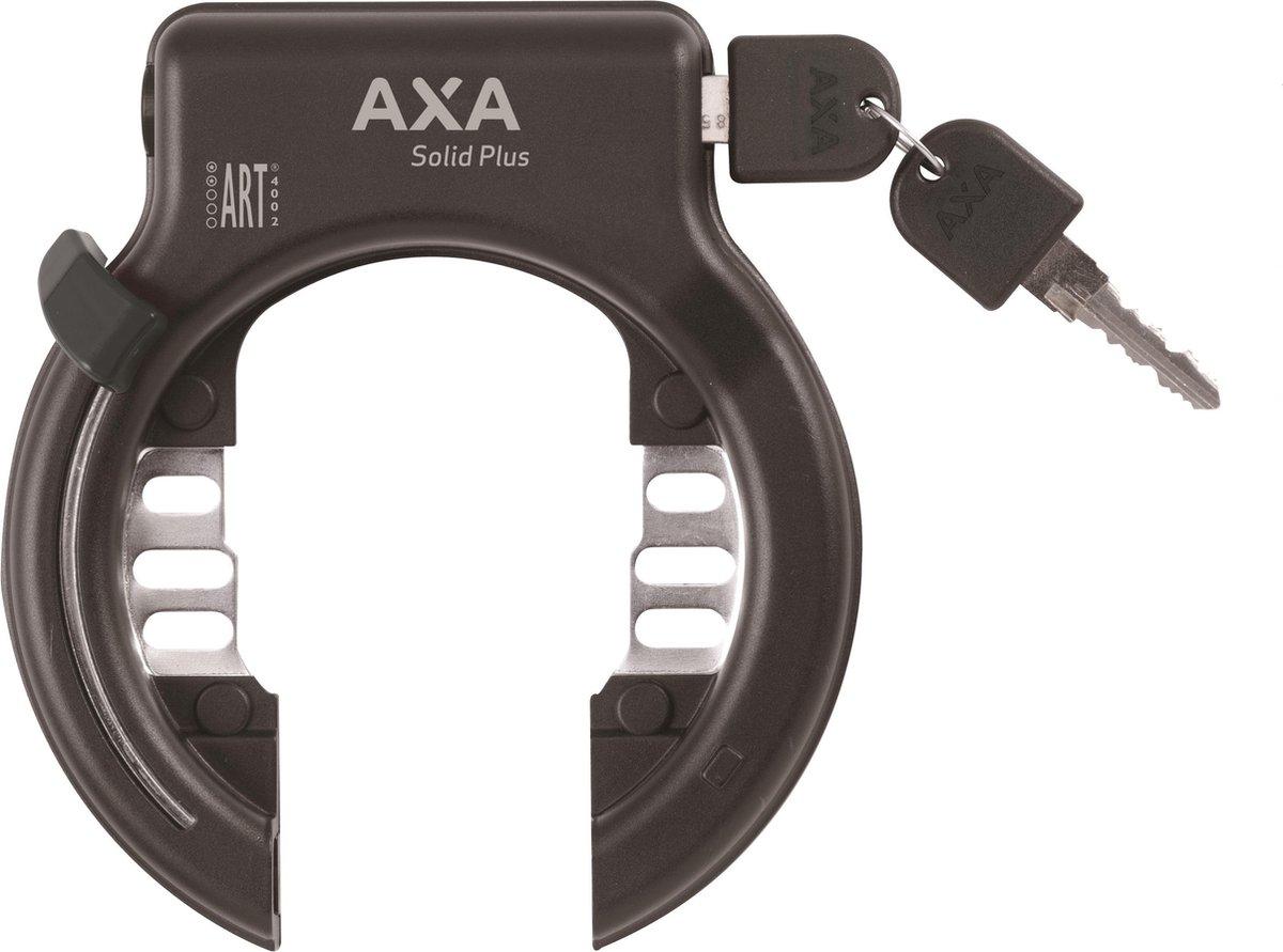 Axa Solid Plus Ringslot - ART2 - Zwart