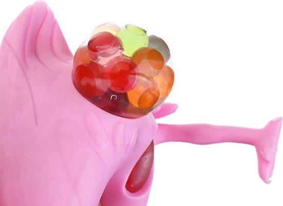 Thumbnail van een extra afbeelding van het spel Stressbal Flamingo met Waterparels – 12x6cm   Versterking van de Hand Pols en Onderarm   Stresspeelgoed