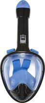 Sea Turtle Flex Deluxe Full Face Mask - Snorkelmasker - L/XL - Zwart/Blauw