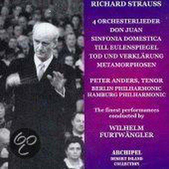 Strauss: 4 Orchesterlieder, Don Juan, Till Eulensp