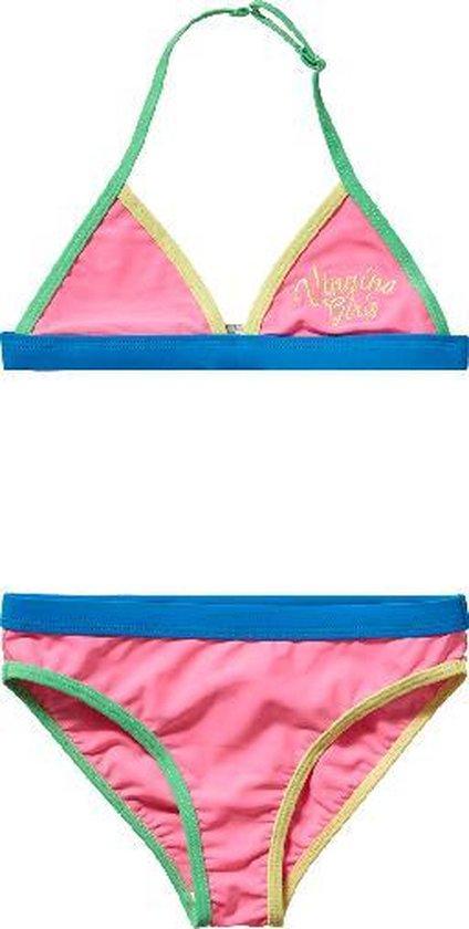 Vingino Meisjes Bikini - blauw;roze;groen - Maat 152