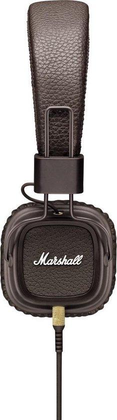 Marshall Major II Brown - Headphones with Mic