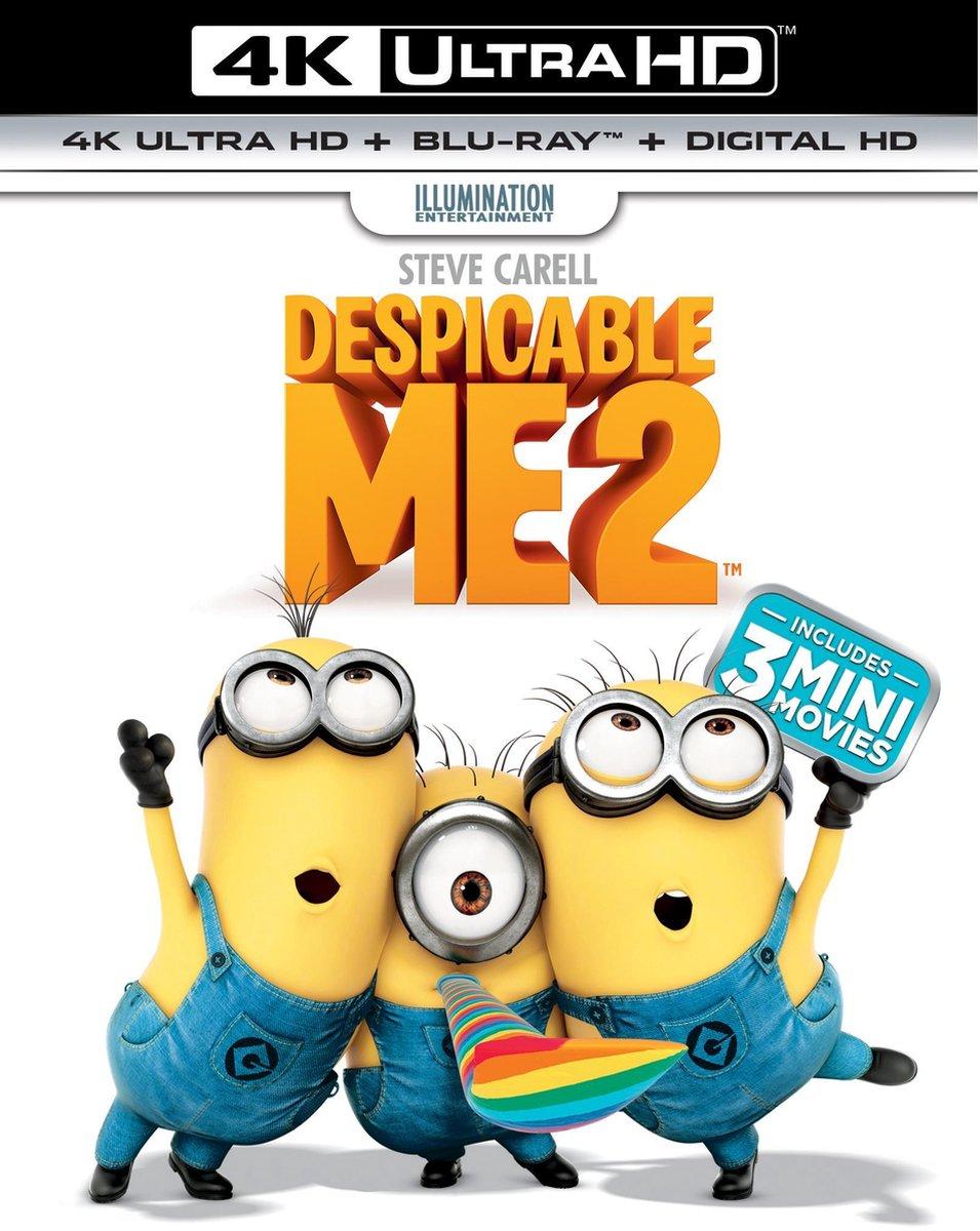 Verschrikkelijke Ikke 2 (4K Ultra HD Blu-ray)-