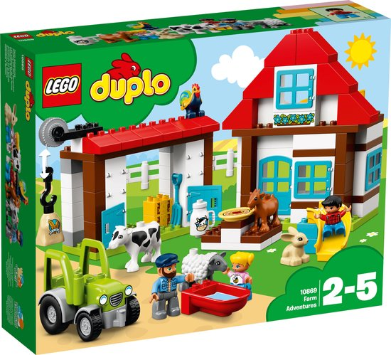 Afbeelding van LEGO DUPLO Avonturen op de Boerderij - 10869
