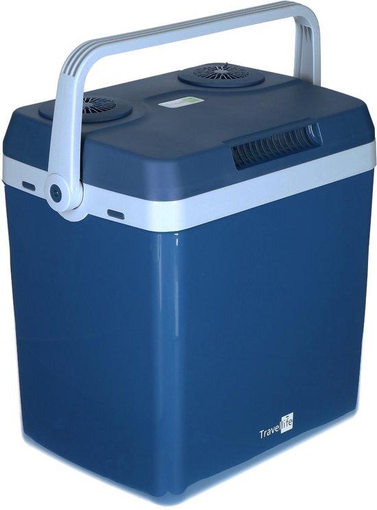 Travellife TL32 Thermo-Elektrische Koelbox - 32L - AC/DC - 12V/230V - Blauw