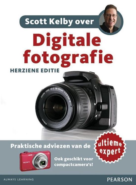 Cover van het boek 'Scott Kelby over: Digitale fotografie'