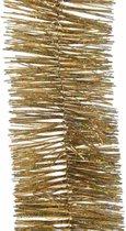 Kerstslinger glitter goud 270 cm - Guirlande folie lametta - Gouden kerstboom versieringen
