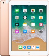 Apple iPad (2018) - 9.7 inch - WiFi + Cellular (4G) - 32GB - Goud