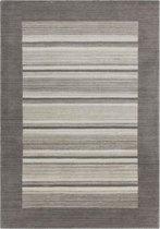 Lalee Wollen vloerkleed 80 x 150 Zilver